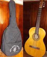 Классическая гитара Музима (Германия) с чехлом